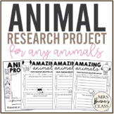 Animal Research Project for ANY Animal