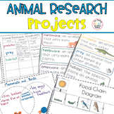 Animal Research Projects - Third Grade CCSS
