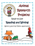 Animal Research Projects with 40 Animal Covers