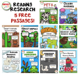 Animal Research Reading Free Passages
