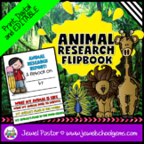 Animal Science Activities (Research Report Flipbook with Rubrics)