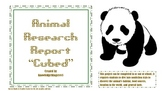 "Animal Research Report ""Cubed"""