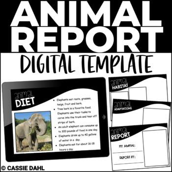 Animal Research Report (Digital Templates)
