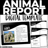 Animal Research Report (Digital Templates)