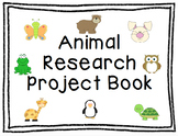 Animal Research Report (Graphic Organizer and Book Template)