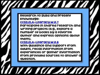 Animal Research Report- Lion (Mammal) A Complete and CCSS Aligned Research Unit