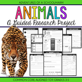 Animal Research Report Project - 3rd, 4th, 5th grade (Comm
