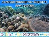 Animal Research Report-Sea Turtle (Reptile)A Complete CCSS Aligned Research Unit