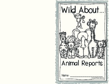 Animal Research Report Teacher Guide and Student Pages