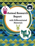 Animal Research Report Unit with Differentiated Materials