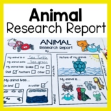 Animal Research Report (Worksheets & Graphic Organizers)