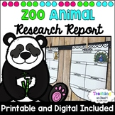 Digital Animal Research Project | Animal Report | Nonfiction Writing