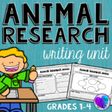 Animal Research Project Report Nonfiction Writing Unit