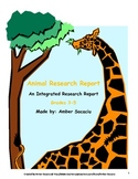 Animal Research Report for ELA and Science CCSS