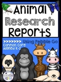 Animal Research Reports--Using Pebble Go