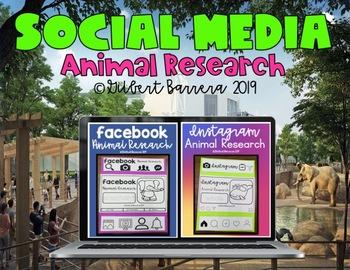 Animal Research (Social Media)~Bundle