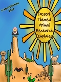 Animal Research Templates- Desert Theme