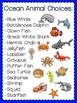 Animal Research Templates- Ocean Theme