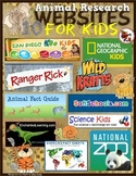 Animal Research Websites for Kids