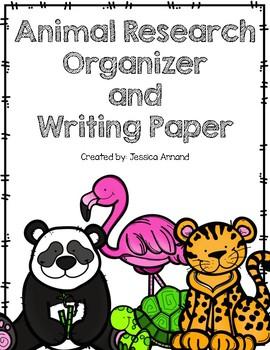 Animal Research Writing Organizer