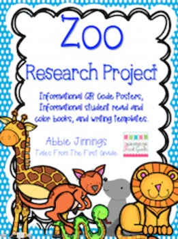Animal Research Writing Pack- 1st Grade