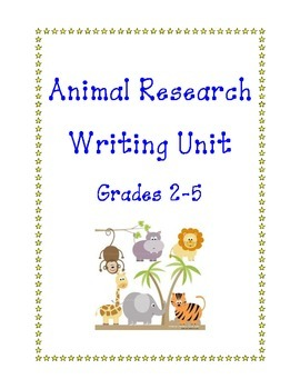 Animal Research Writing Unit