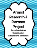 Animal Research and Diorama Project