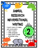 Animal Research and Informational Writing