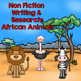Animal Research and Non Fiction Writing: African Animals