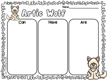 Animal Research and Non Fiction Writing: Arctic Animals