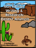 Animal Research and Non Fiction Writing: Desert Animals