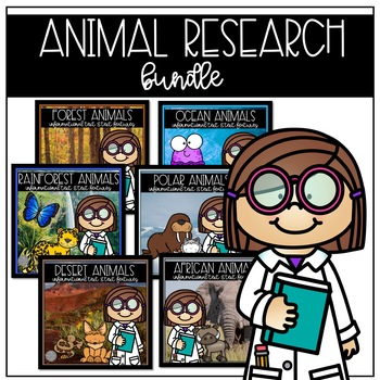 Animal Research and Text Features Materials