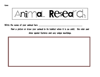 Animal Research for Students