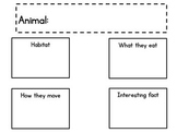 Animal Research planning page