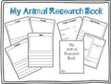 Animal Research template (freebie)