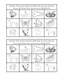 Animal Resemblance Matching Activity (2 per page)