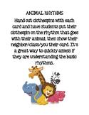 Animal Rhythms Assessment