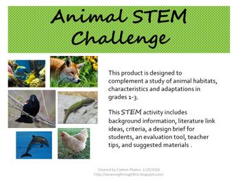 Animal STEM Challenge