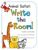 Animal Safari - Write the Room!
