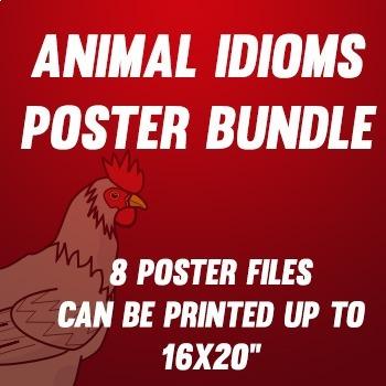 Animal Sayings poster files bundle