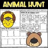 Animal Scavenger Hunts