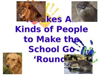 Animal School Team Building Activity