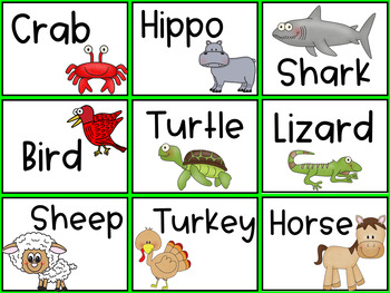 Animal Science- Charades and Other Activities