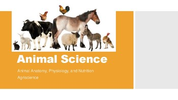 Animal Science Lesson PowerPoints