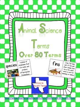 Animal Science Terms
