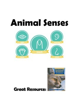 Animal Senses Centers Lesson