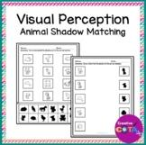 Animal Shadow Matching Visual Perception Activities and Wo