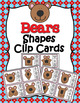 Animal Shapes Clip Cards Bundle