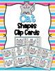 Animal Shapes Clip Cards Bundle