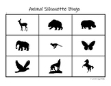 Animal Silhouette Bingo